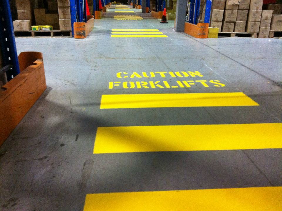 Warehouse Safety Lines Google Search Organized