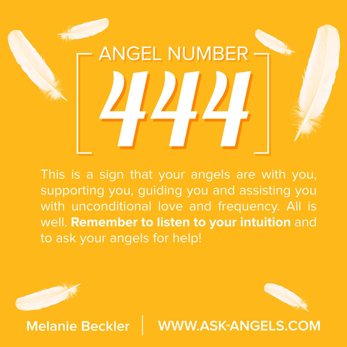 Meaning of the number 22 in the - Angel Number 444 What S The Meaning