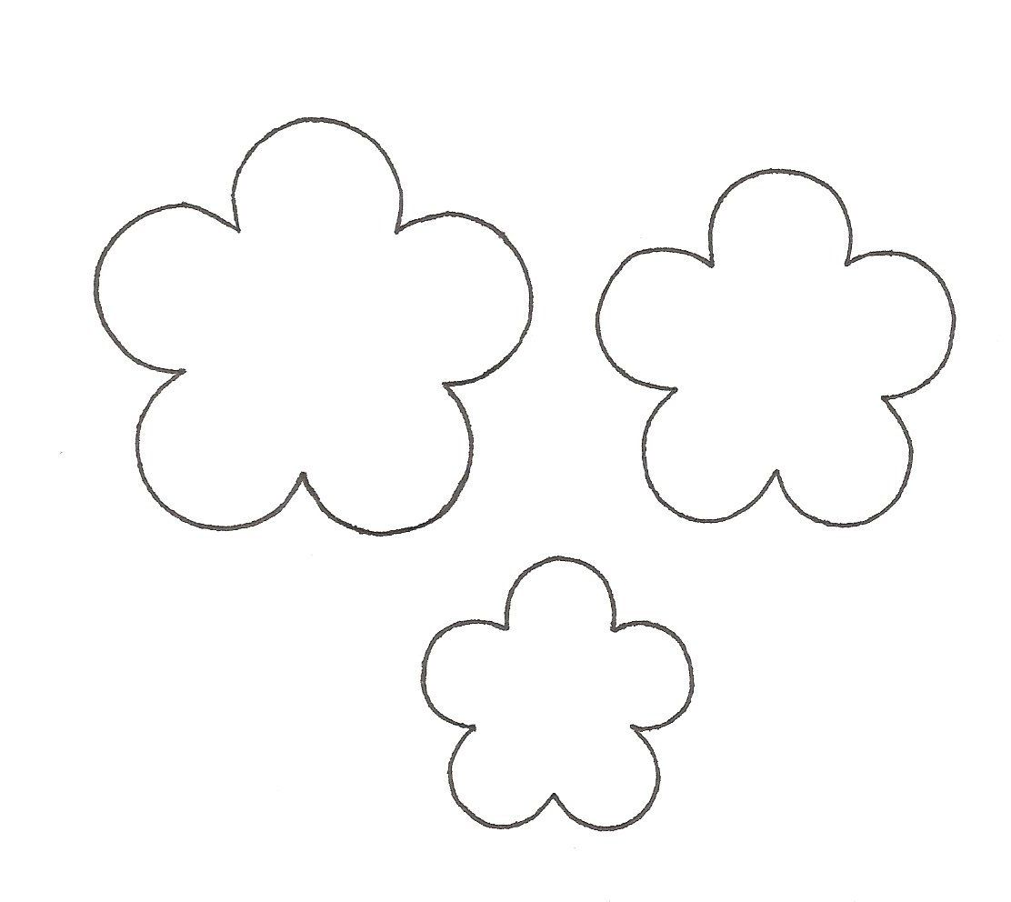 Paper Flower Cut Out Templates Projects To Try Pinterest Template