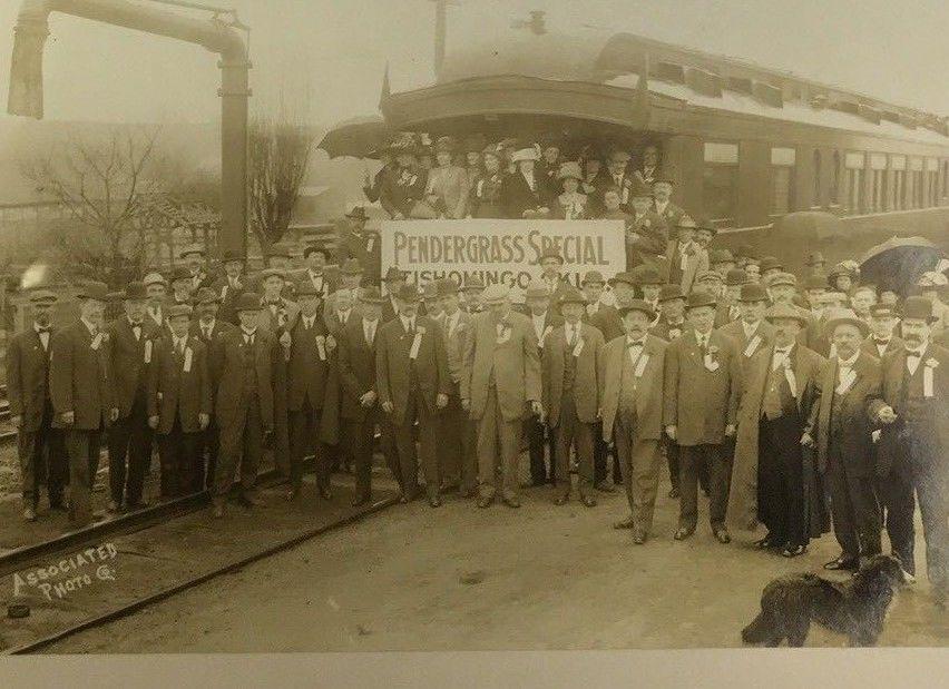 RARE Tishomingo OK Western Oklahoma RR Caboose Event Antique