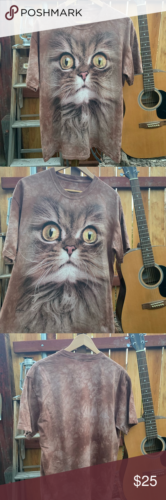 The Mountain full size cat face shirt (With images) Cat