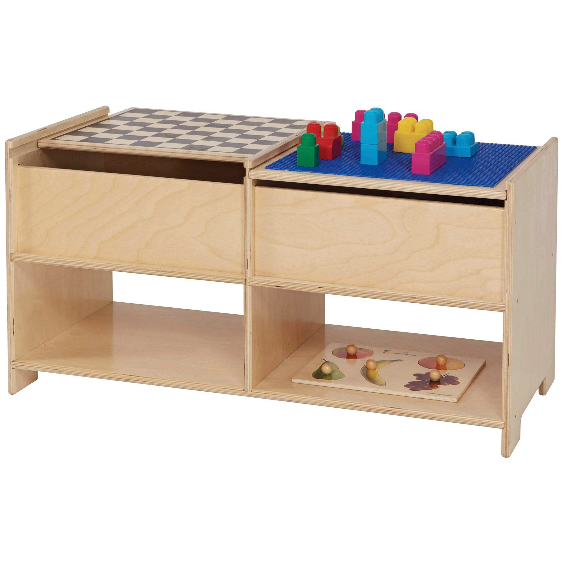 Wood designs build n play table wd play table wood design