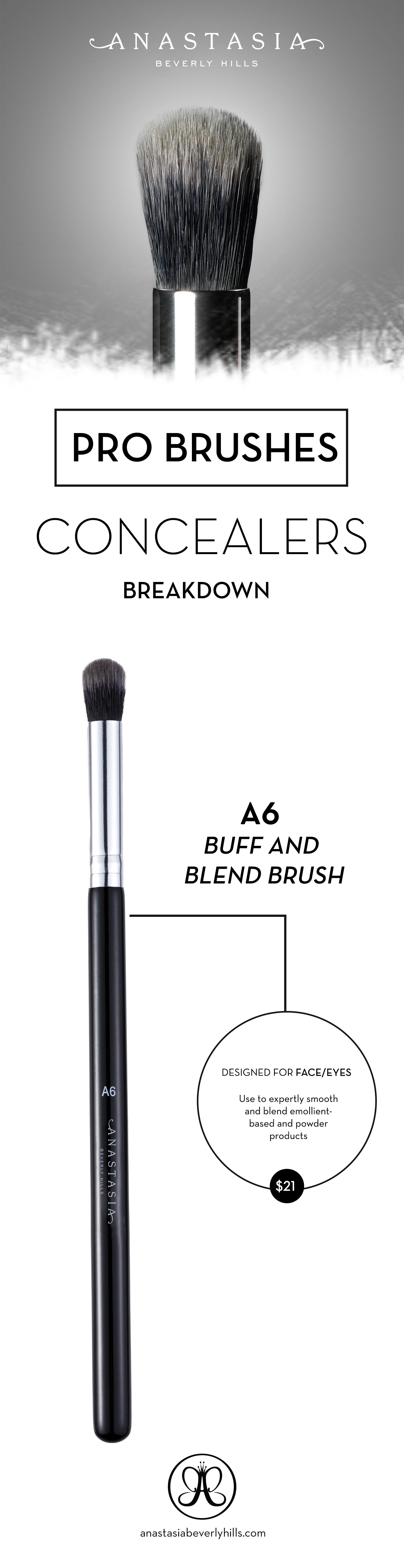 Buff and Blend Brush Small Blending Brush Eye makeup