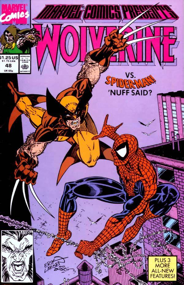 Marvel Comics Presents #48 Wolverine