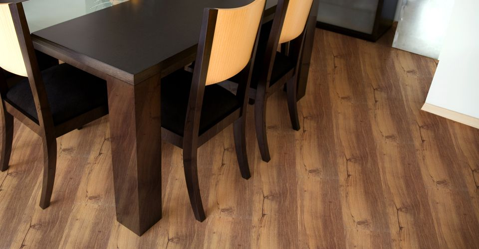 BARNWOOD With Easy GripStrip Installation, Vinyl Plank Resilient Flooring  Has Never Been This Easy To