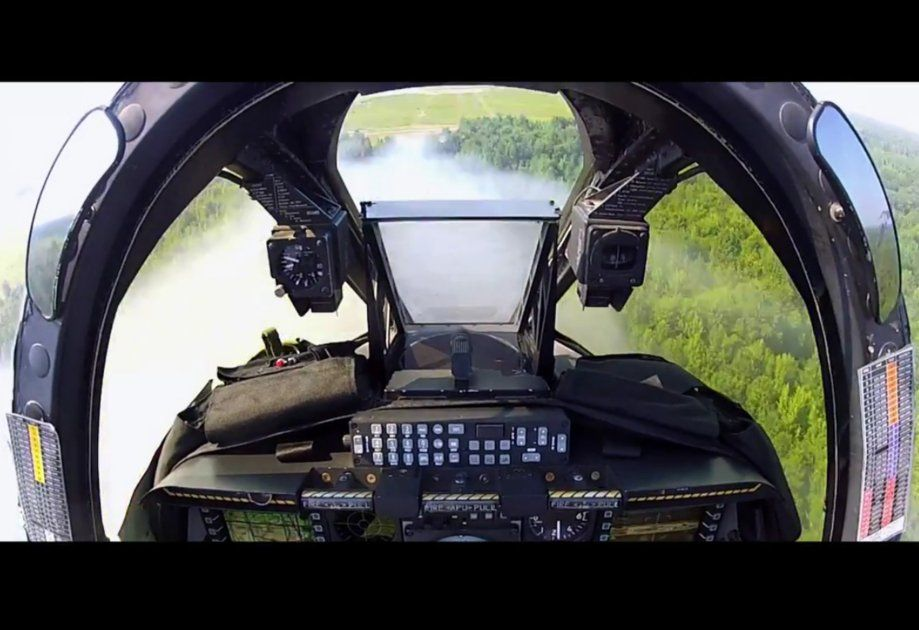 A 10 Warthog Cockpit During Shooting C Unknown Cockpit Military