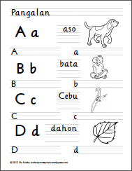filipino alphabet sheets | Homeschool | Handwriting ...