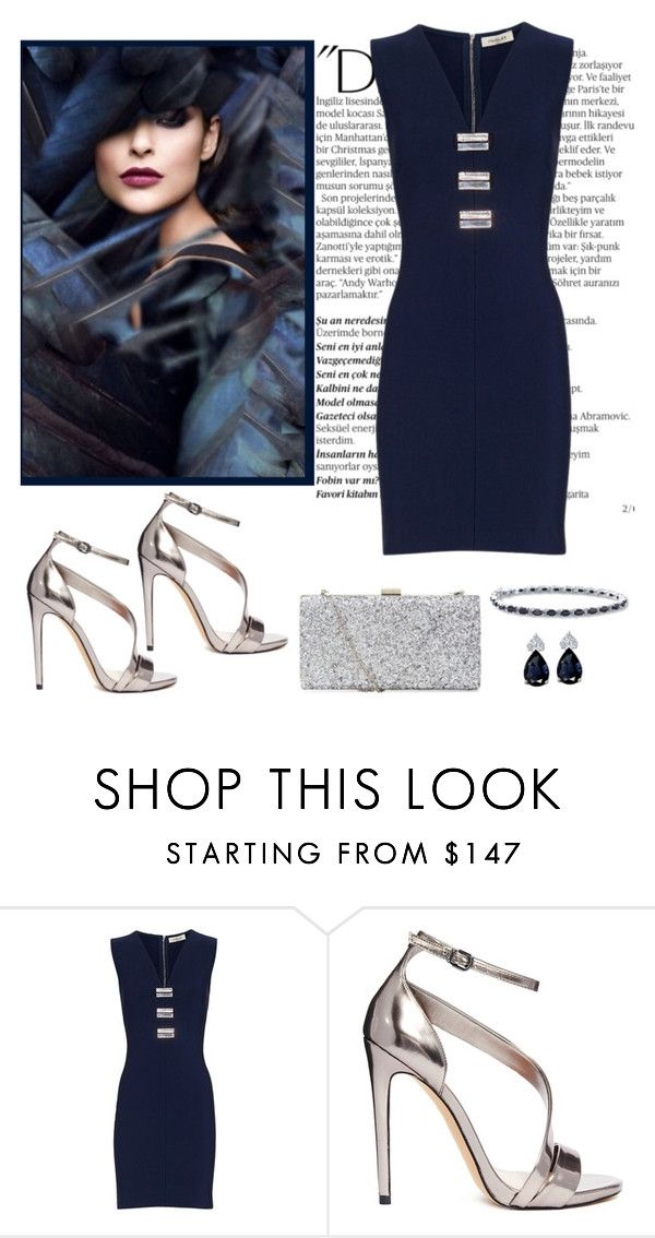 """Untitled #985"" by gallant81 ❤ liked on Polyvore featuring Balmain, Thierry Mugler and Carvela"