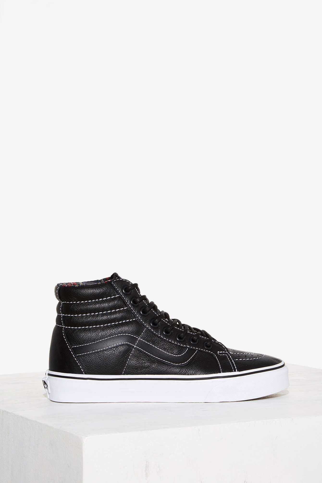 7d510d8c9801a9 Get ready to kick it in the iconic Sk8-Hi Sneakers by Vans.