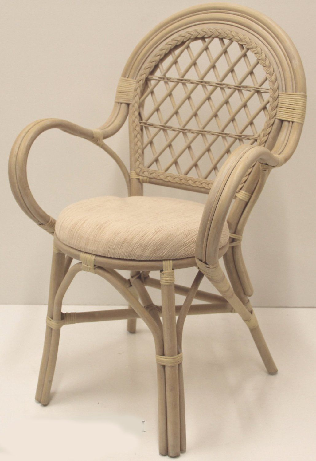 Dining Chair w/ Cushion Design Woven Back ECO