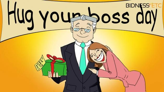 """5 Things You Can Give To Your Boss On """"Hug Your Boss Day"""""""