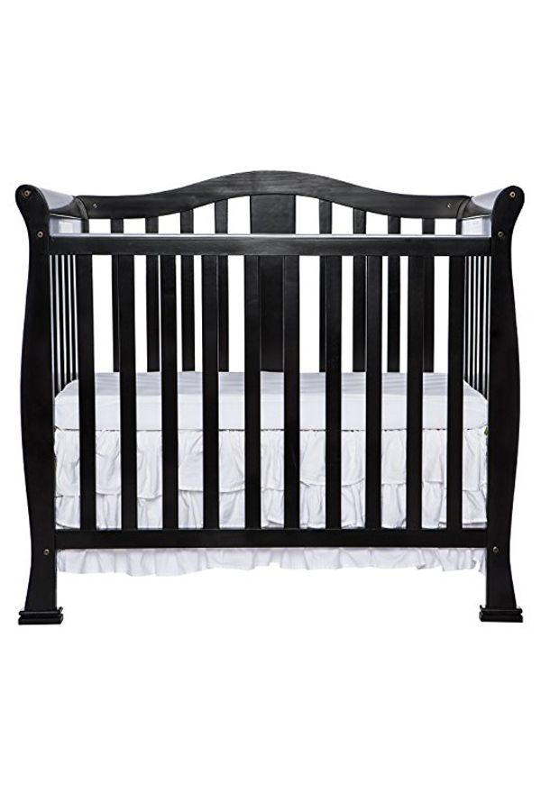 Dream On Me Addison 4 In 1 Convertible Mini Crib With Images Mini Crib Cribs Dream Nurseries