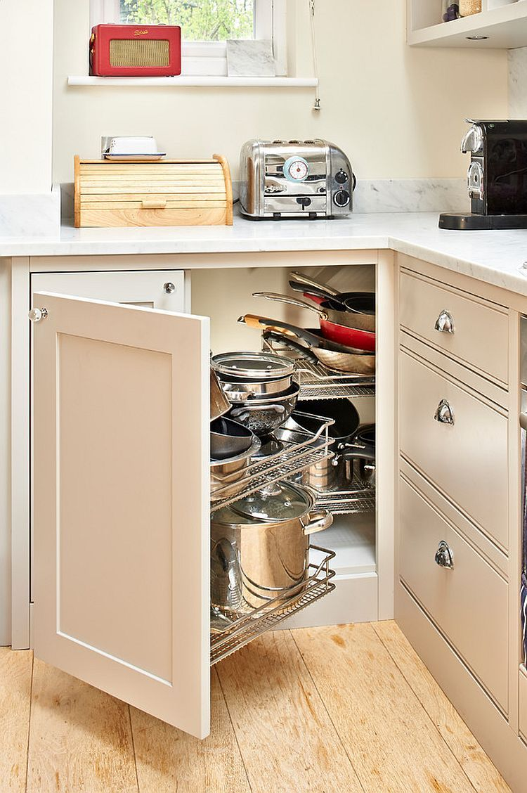 30 Corner Drawers And Storage Solutions For The Modern Kitchen Kitchen Design Small Functional Kitchen Design Corner Kitchen Cabinet