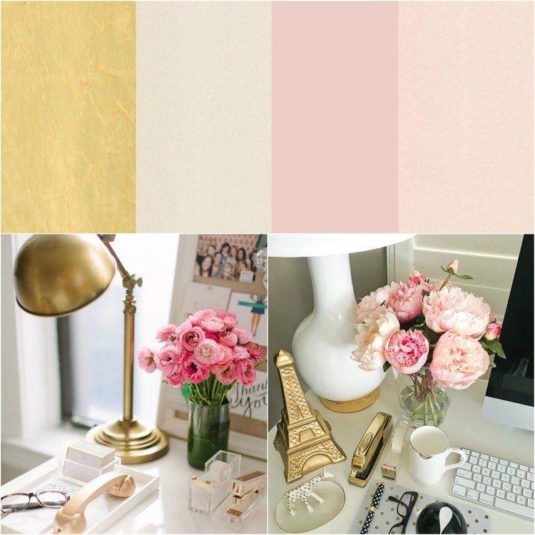 Déco chambre fille ado en rose, or et compagnie en quelques idées