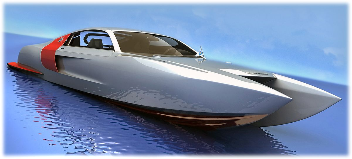 Audi Biocat Catamaran Boat Only Boat Lovers Pinterest
