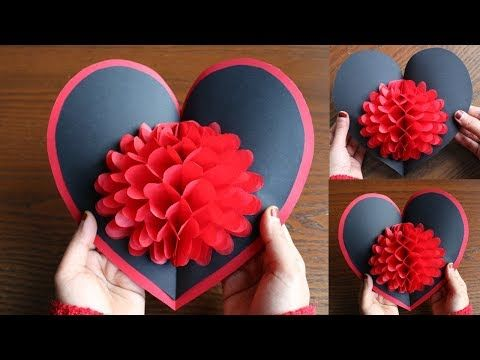 Hacer tarjetas pop up de flores diy regalos f ciles y - Regalos faciles y rapidos ...