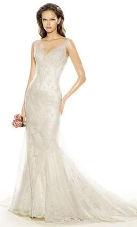 Pronovias: buy this dress for a fraction of the salon price on PreOwnedWeddingDresses.com