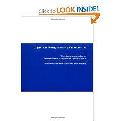 Lisp 1 5 Programmer S Manual By Michael I Levin And John Mccarthy Programmer Lisp Science Books