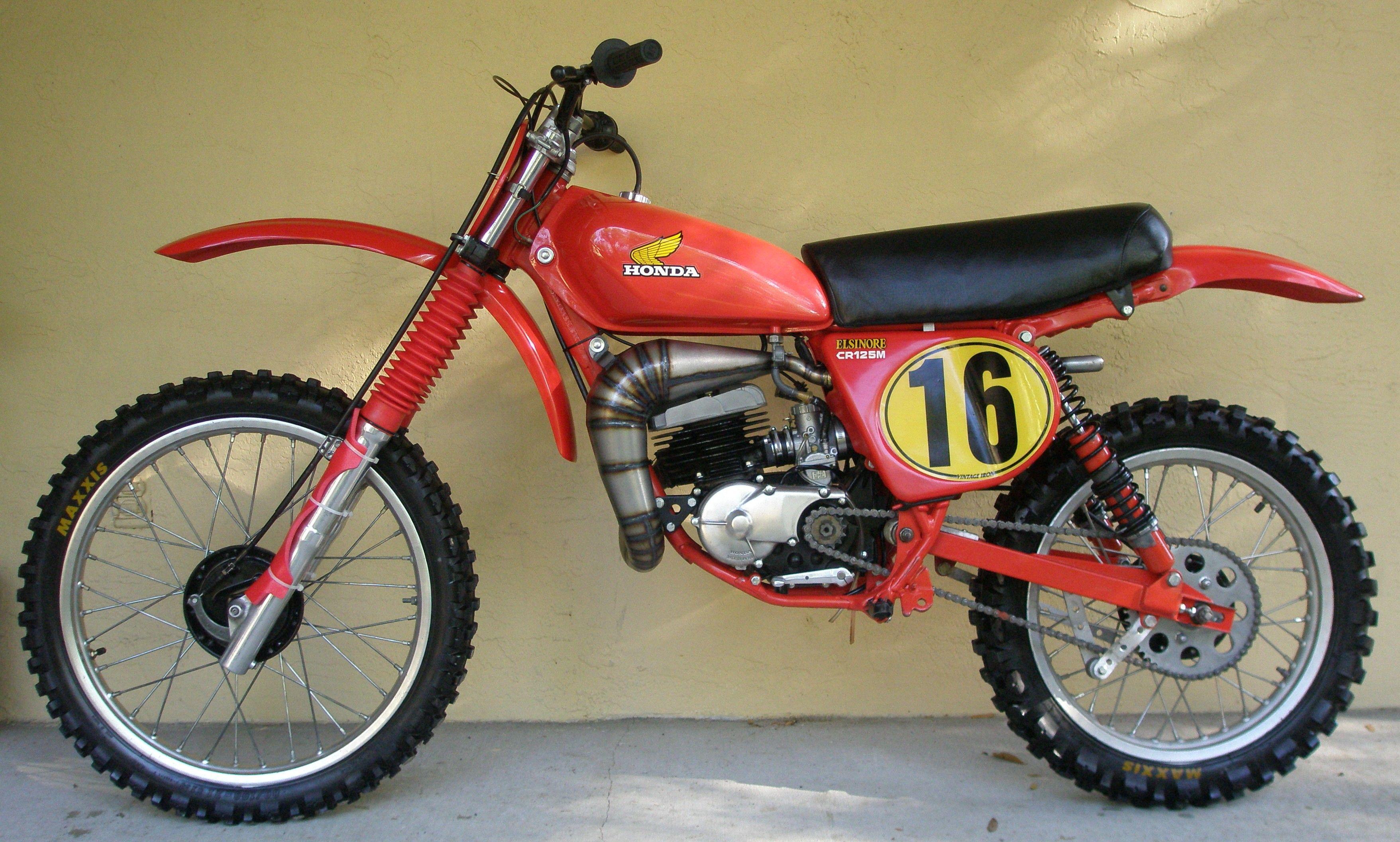 vintage honda motocross | 1979 Honda CR250R / Slide Show