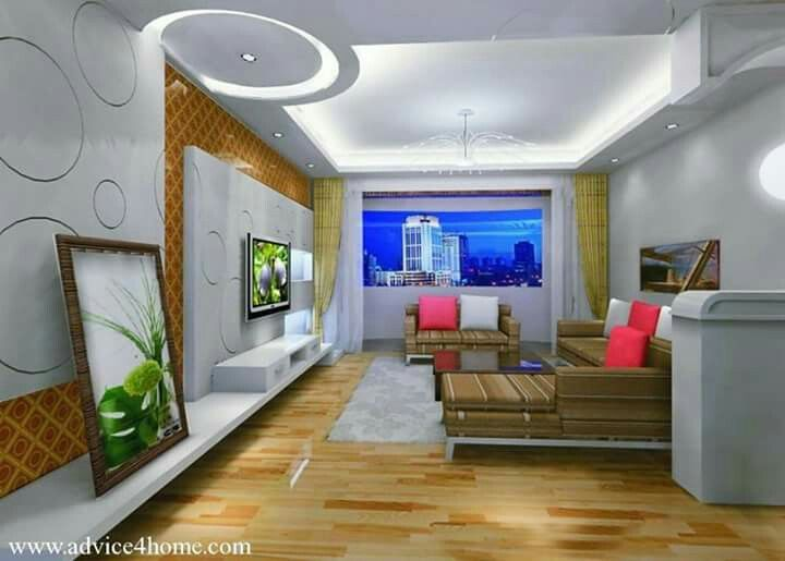 White pop ceiling design and wall brown sofa set in living room for home advice furniture decoration also pin by sunila anand on decor pinterest rh au