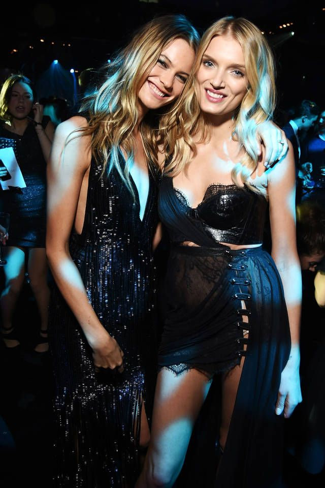 All the best dressed from last night's Victoria's Secret Fashion Show afterparties.