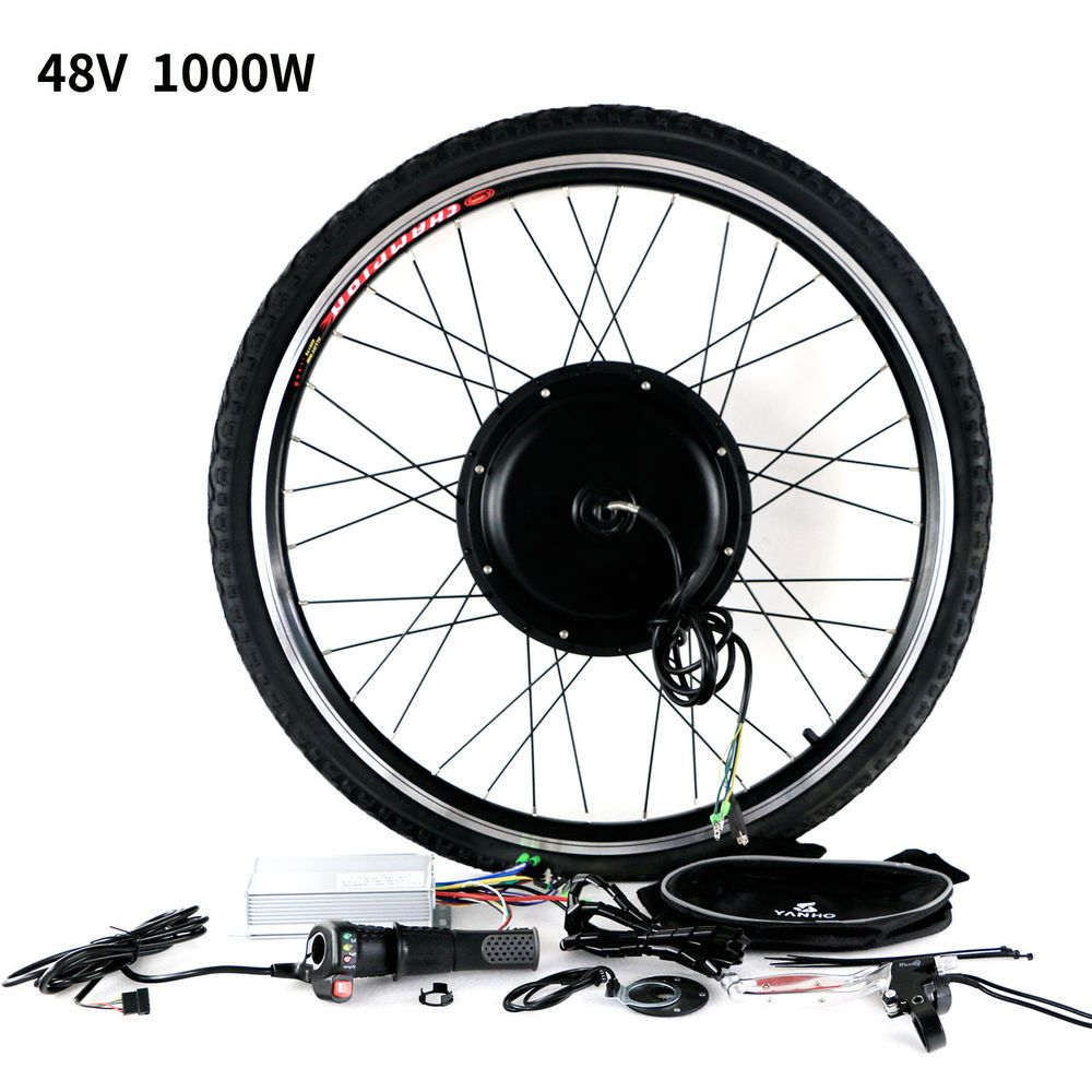 Features 48v 1000w Super Power Brushless Gearless Hub Motor Reach Speeds Of 60 Miles An Hour No Problem 6 48v 1000w System Requires E Bike Kit Bike Kit Ebike