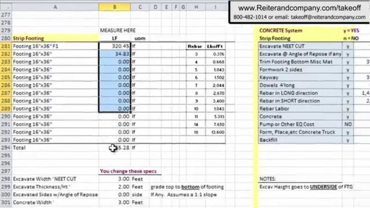 Free Construction Estimating Software Auto Cad