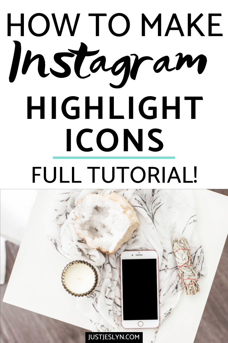 How To Create Instagram Highlight Covers (+ FREE Icons