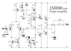 1500 Watt high power amplifier (con imágenes