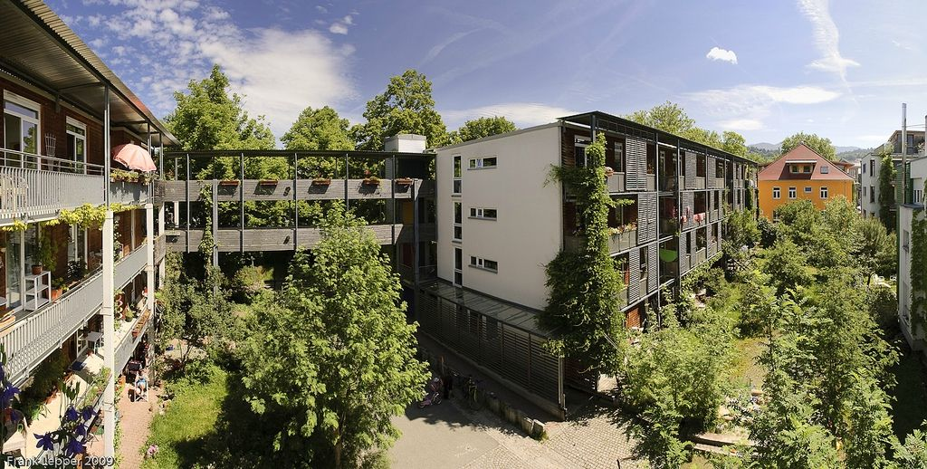 Z14 vaubau fribourg eco quartier pinterest eco for Architecture ecologique