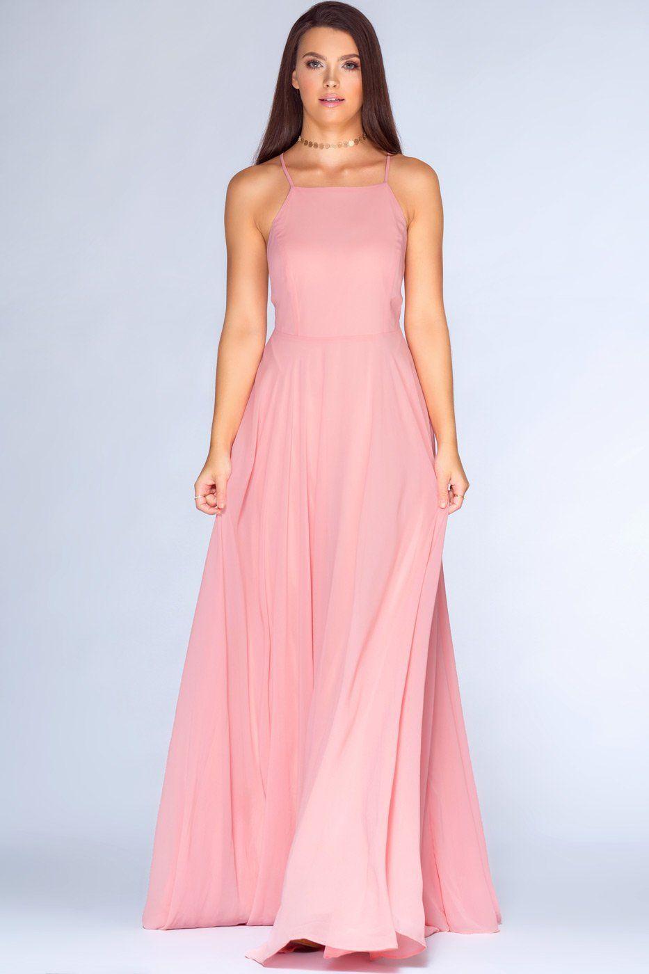 Aurora Maxi Dress - Blush   Pinterest