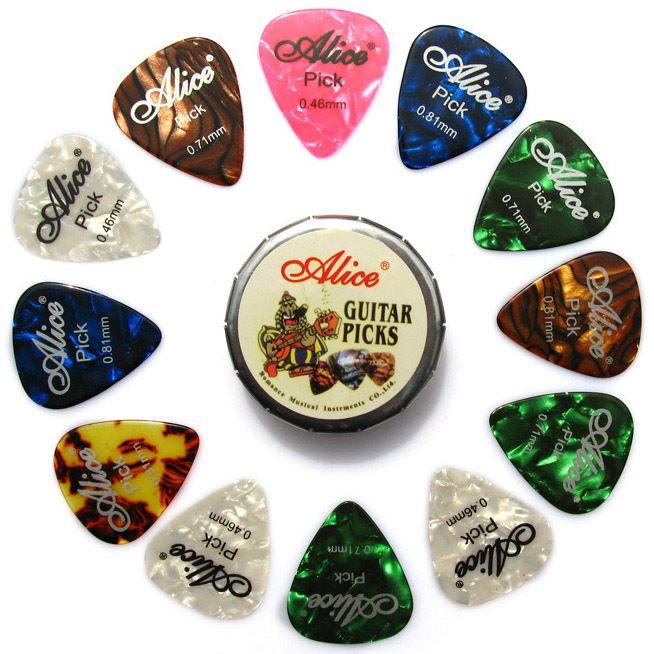 16 x Hochwertige Gitarren Plektrum Plektren Picks für Gitarre Perfekt für