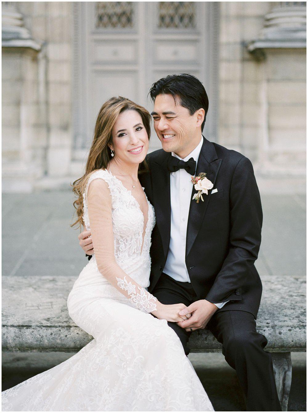 Paris Elopement Wedding At Hotel Plaza Athenee In 2020 Paris Wedding Fox Wedding Elope Wedding