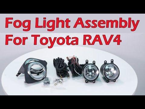 Fog Light Assembly Lamp Wiring Harness Clear Bumper Review For 2008 2012 Toyota Rav4 Partsam Youtube Rav4 Toyota Rav4 Toyota