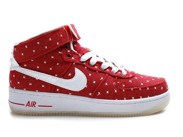 Nike Air Force One Weiss Rot Nike Free Shoes Sneakers Nike Nike