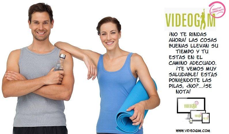 ✔ ¿Cuantas razones necesitas para estar en forma? ¡Comienza hoy mismo!. Dieta + Entrenamiento + contacto con tu dietista/entrenador y +de 10000 usuarios como tu + recompensas y ¡Mucho mas! ¡Entra! www.videogim.com