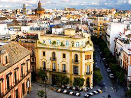 Check out photos of Seville's Plaza de España, Maestranza arena, Mudéjar Pavilion, Plaza Del Triunfo and more.