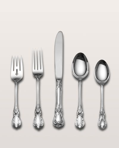 H3sd6 Towle Silversmiths 5 Piece Old Master Sterling Silver