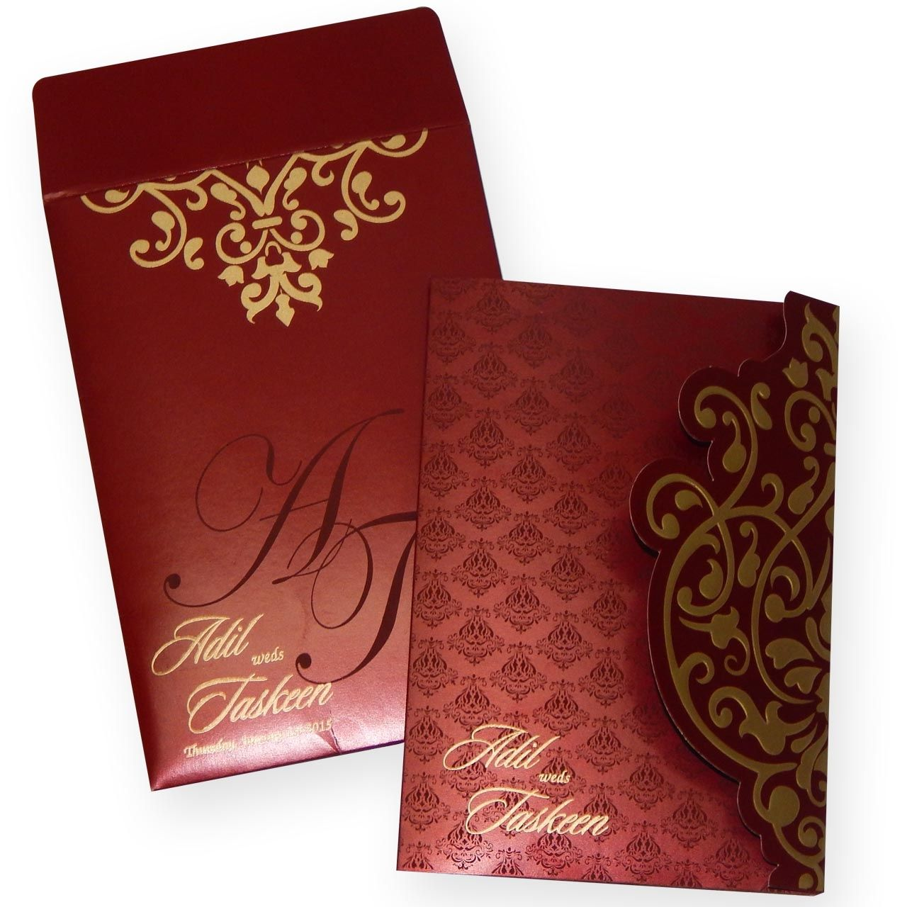 Muslim Wedding Cards Muslim Wedding Cards Pinterest Wedding