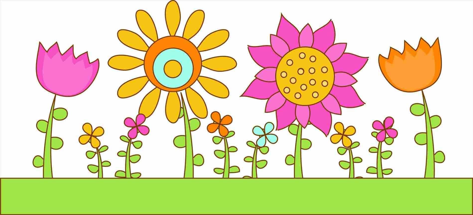 Flower Garden Drawing Images Garden Ideas