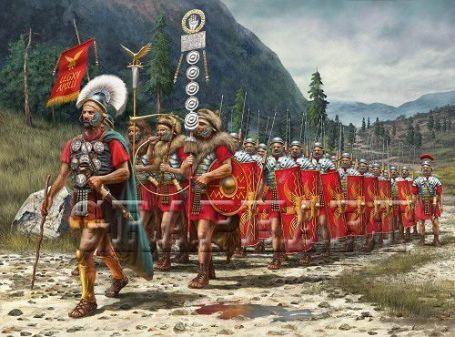 the success of the roman military In the early days of the roman republic, military tactics were influenced by the  methods used by the successful greek army the combat formation used by the.