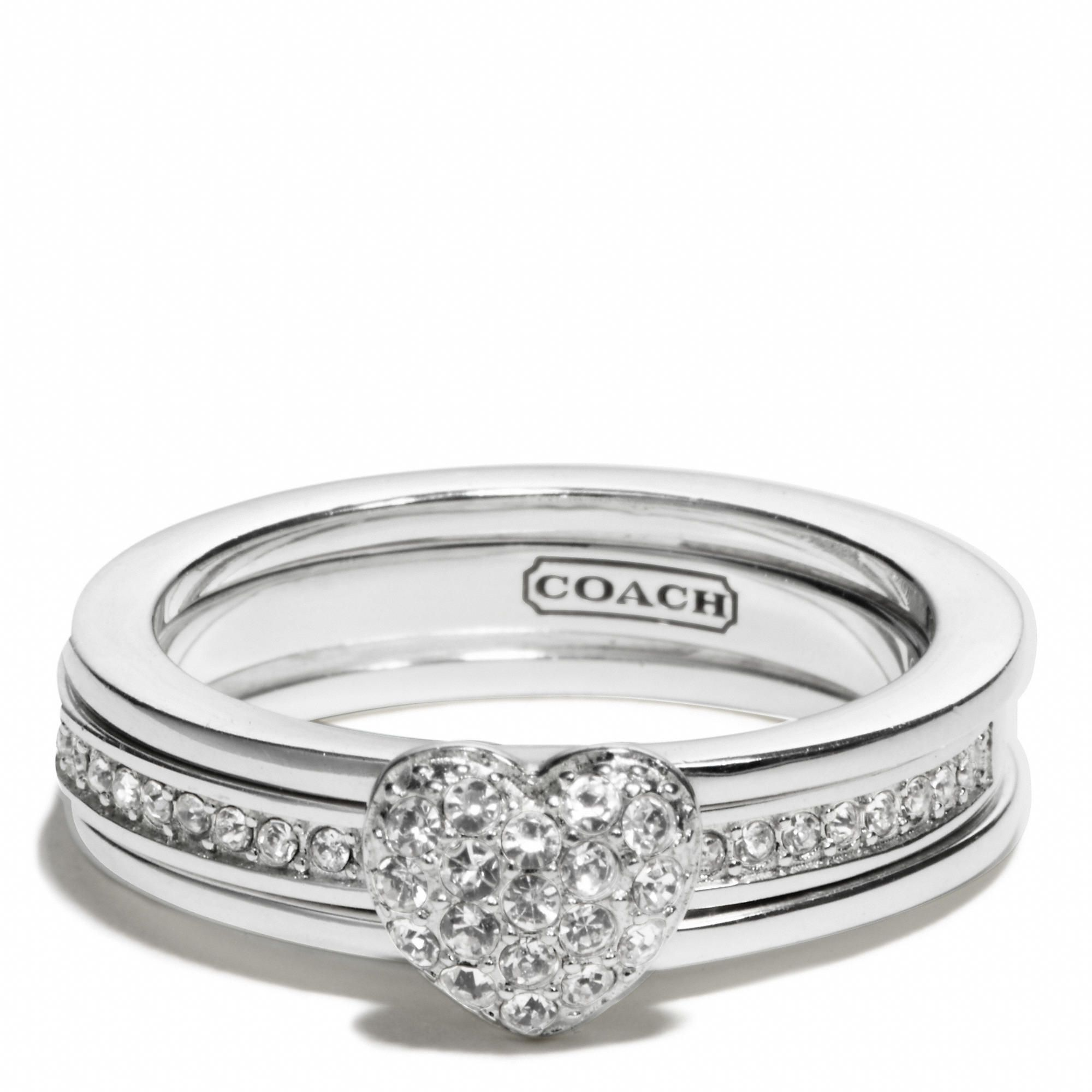 Pave heart convertible ring love Jewerly Pinterest Convertible