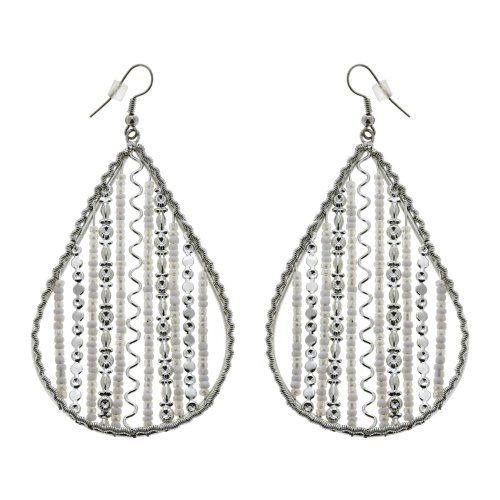 Perline Artigianali Di Ciana Grandi Orecchini Goccia Artigianale Bigiotteria ShalinIndia http://www.amazon.it/dp/B00F31SUBW/ref=cm_sw_r_pi_dp_siI4tb1G541VX