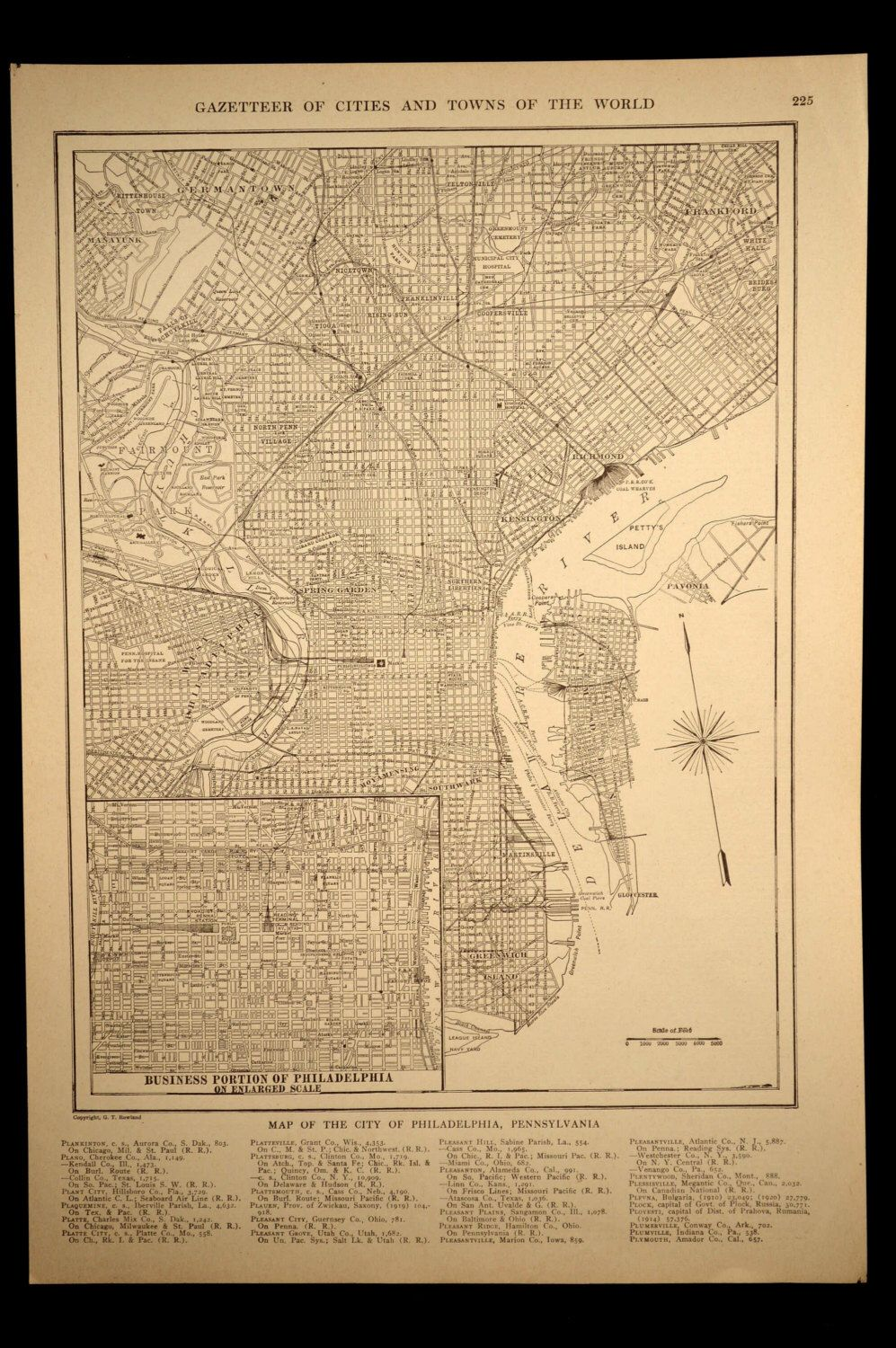 Philadelphia Map of Philadelphia Street Map Wall Art Decor ... on city of dover pa, map of 19124, map of center city pa, map of pa towns, map of west philly pa, map of cities surrounding philadelphia pennsylvania, map of phila metro area, new york city on a map of pa, road map of phila pa,