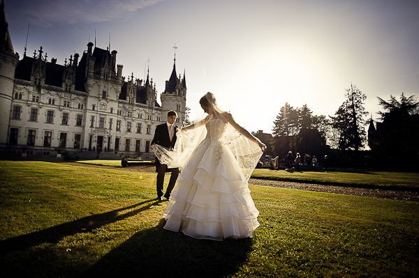 Real Life Fairytale Wedding At Chateau Challain