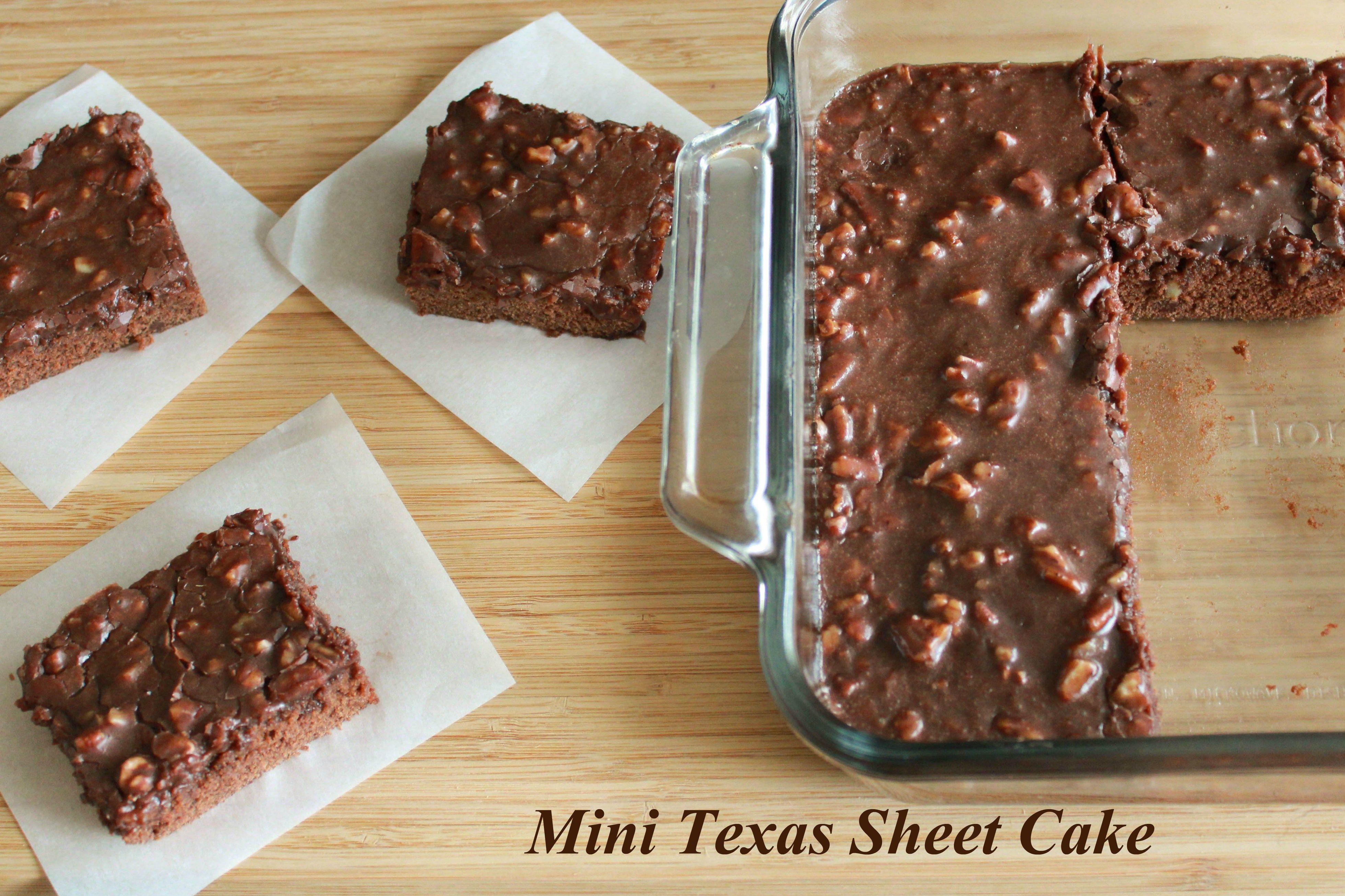 Sheet Cake Adapted To 8x8 Pan Texas Sheet Cake Recipe Sheet