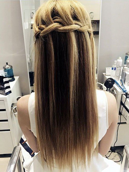 Simple Formal Hairstyles For Thin Hair : 40 long hairstyles and haircuts for fine hair best fine