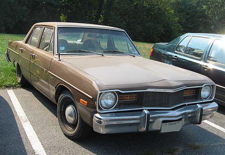 Dodge Dart - Wikipedia, the free encyclopedia | my first car