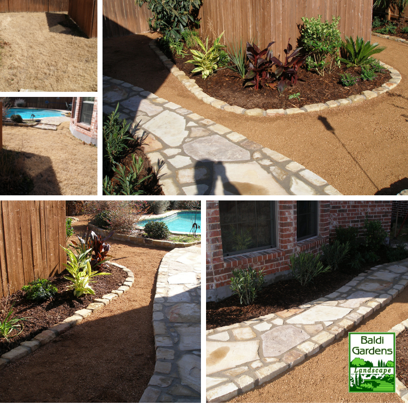 Backyard Transformation Before After: Another Yard Makeover Before And After. Give Us A Call If