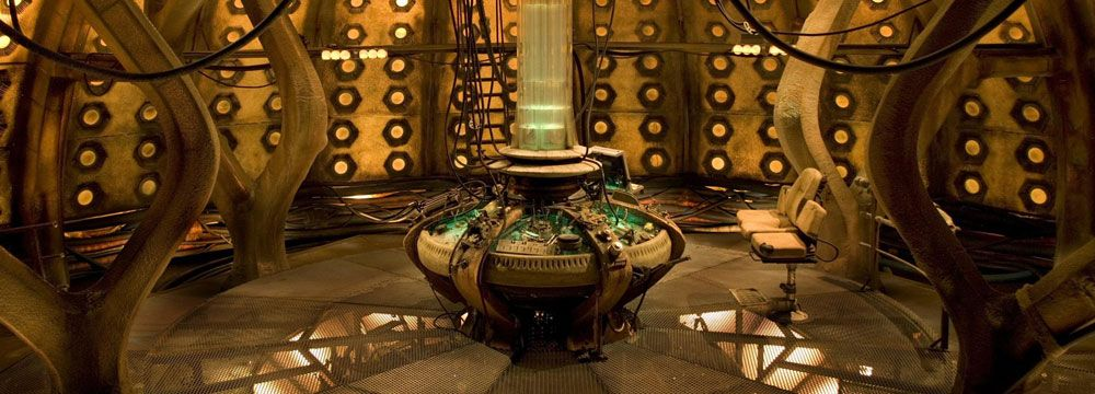 Series One TARDIS Interior - TARDIS Interior and Console Rooms - The Doctor Who Site